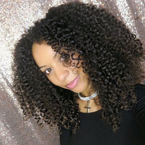 Shannon from UK Curly Girl